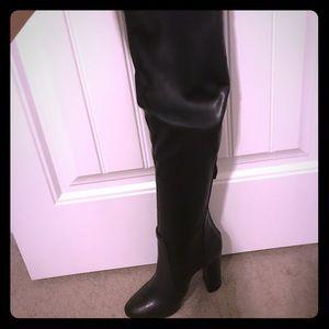 Over the knee aquazurra boots